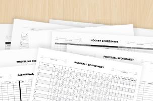 Scoresheet Pack