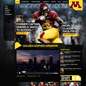 Golden Gopher Gridiron