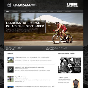 Life Time Fitness Leadman Tri