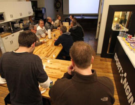 SNUG training event attracted diverse group, offered pizza and prizes