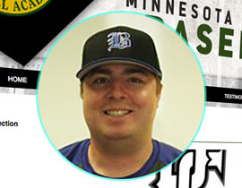 Minnesota Baseball Academy webmaster Jesse Tollefson also is scout for Blue Jays